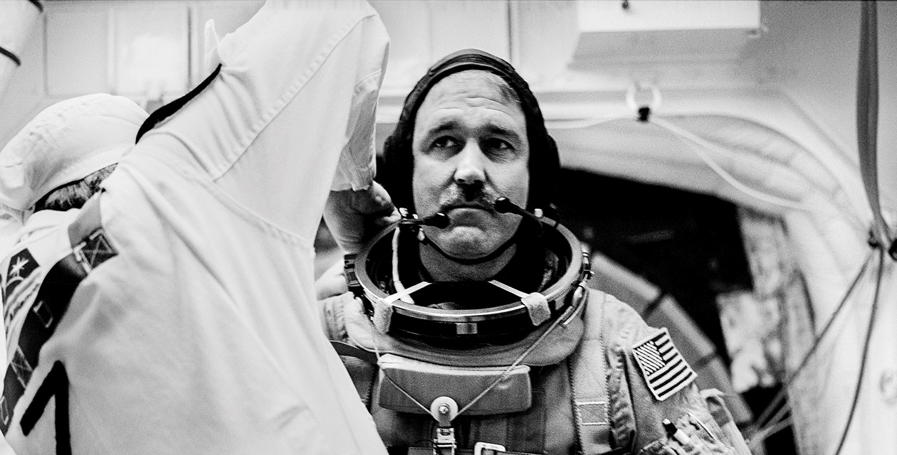 John Grunsfeld preparing for STS125/Hubble ©michael soluri