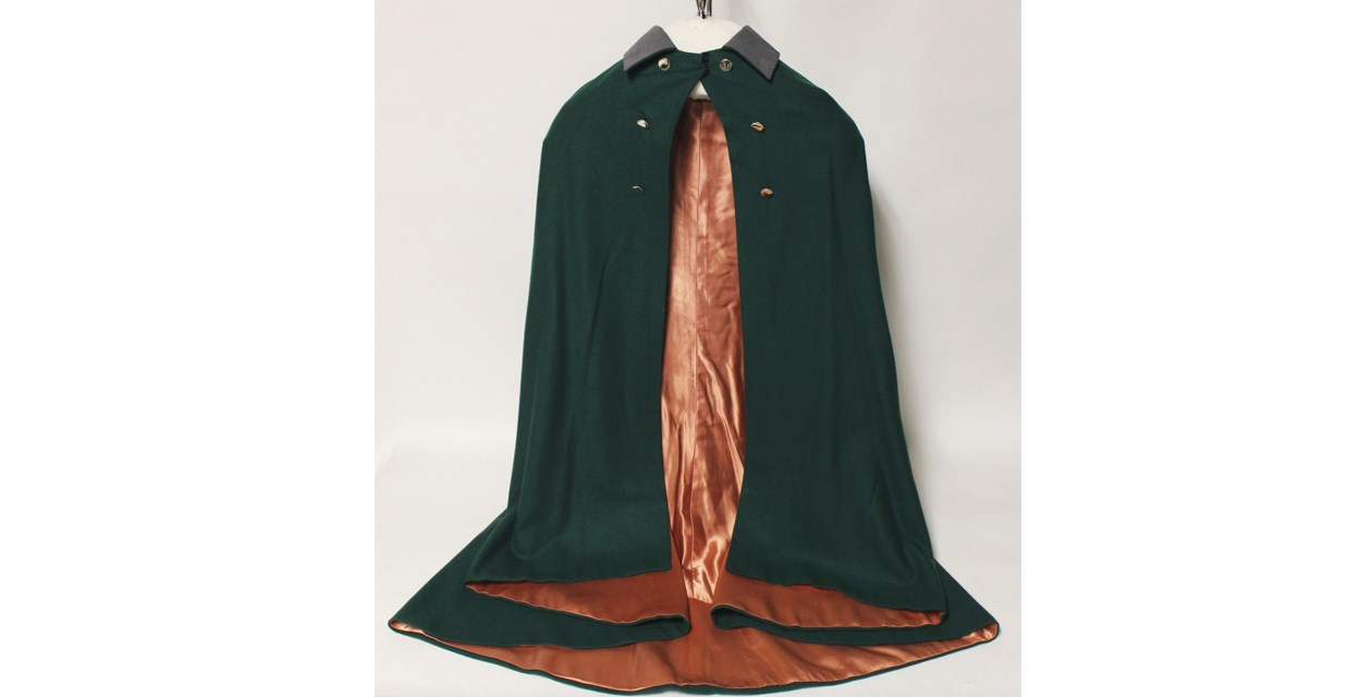 cape - United Air Lines stewardess cape, 1930-1932