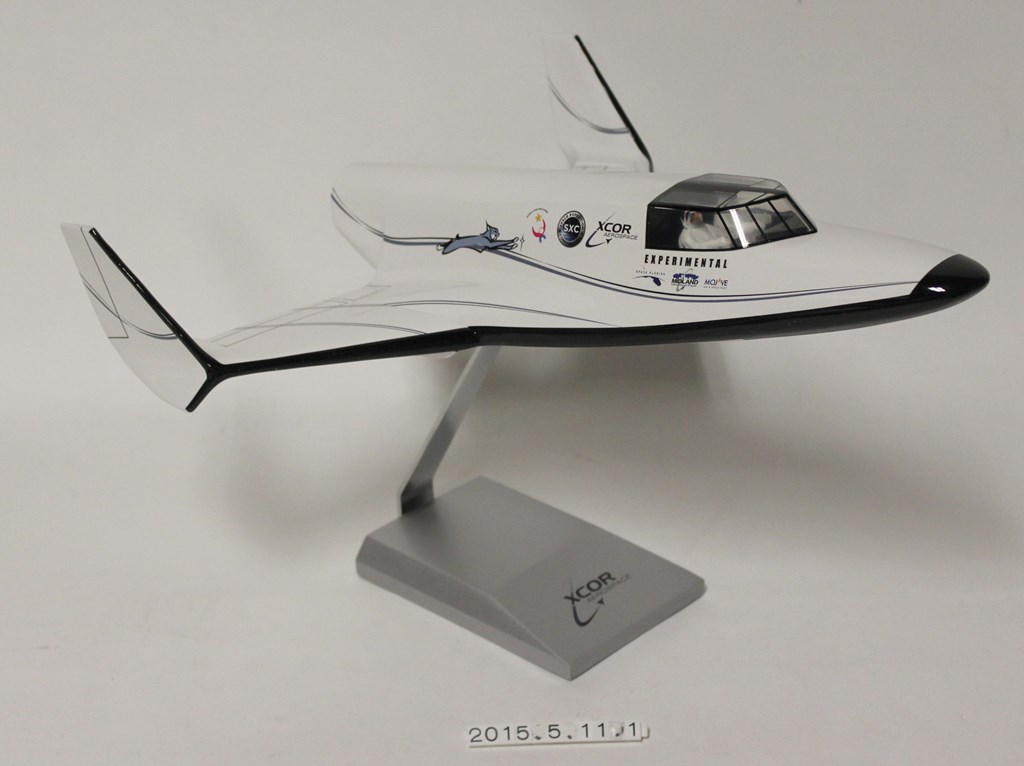lynx - XCOR Lynx spaceplane, 1/24 scale model, ca. 2014]