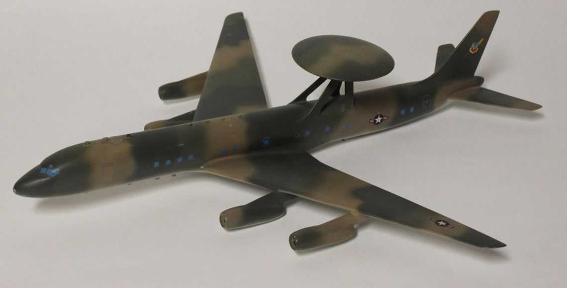 awacs - Douglas AWACS (Airborne Warning and Control System) concept model, 1963-1968