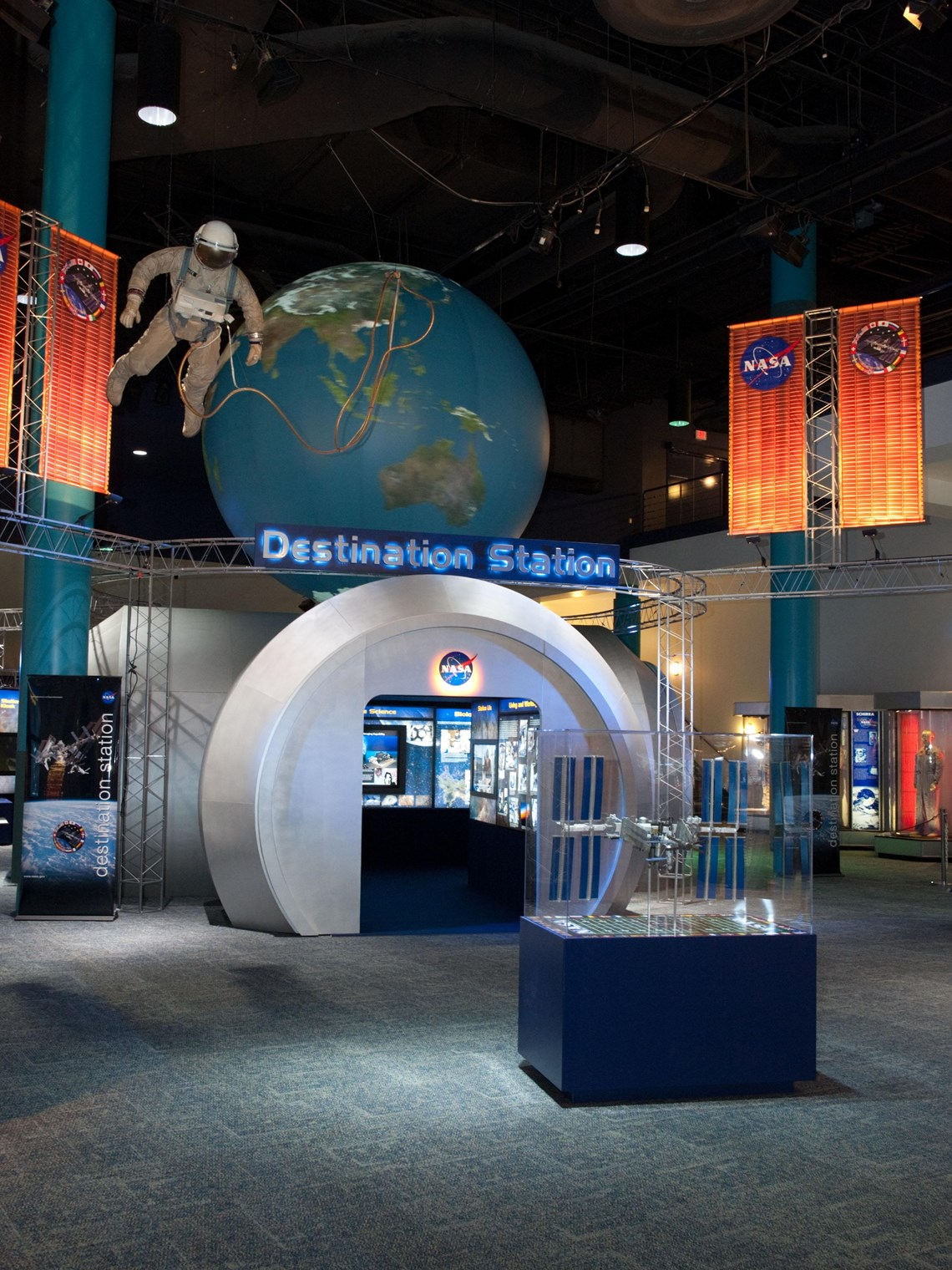 Destination Station at Space Center Houston