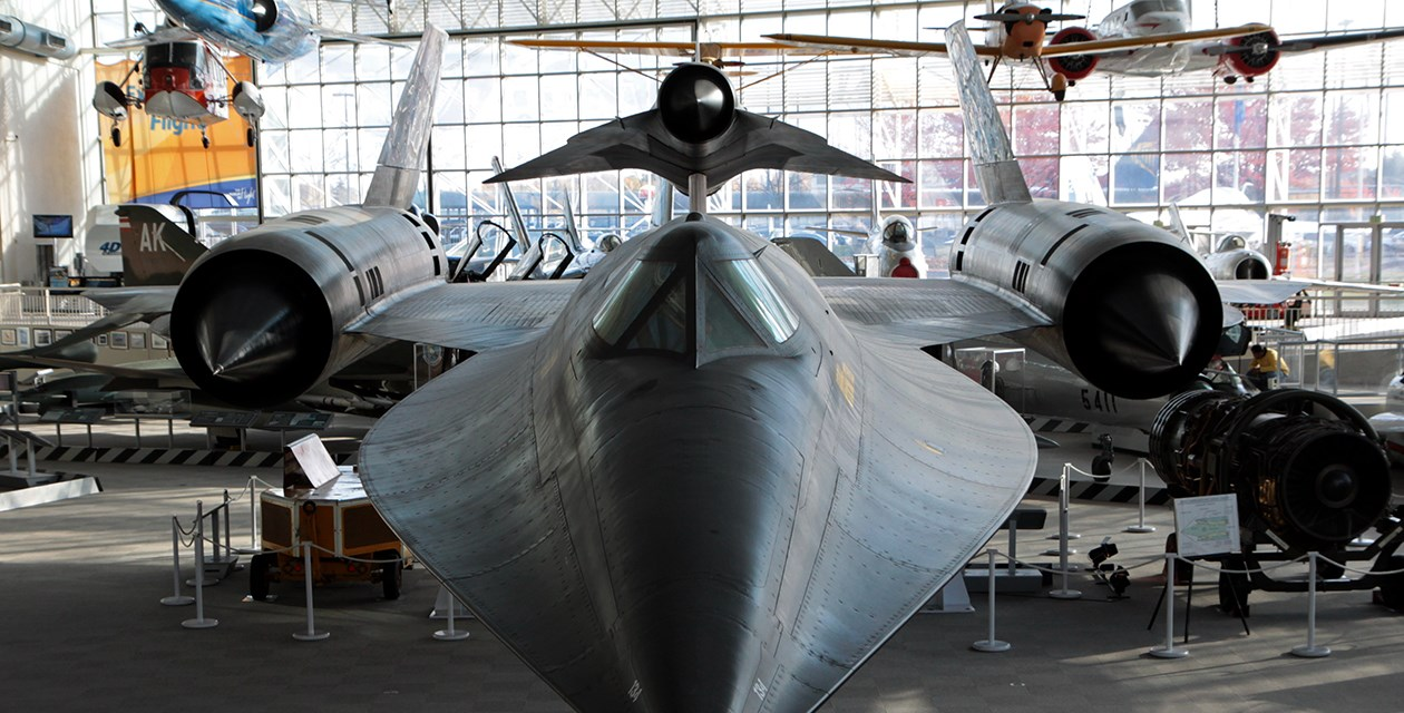Lockheed M-21 Blackbird Closeup