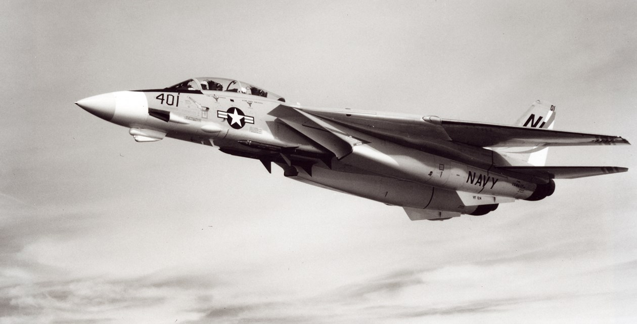 A Grumman F-14A Tomcat in flight