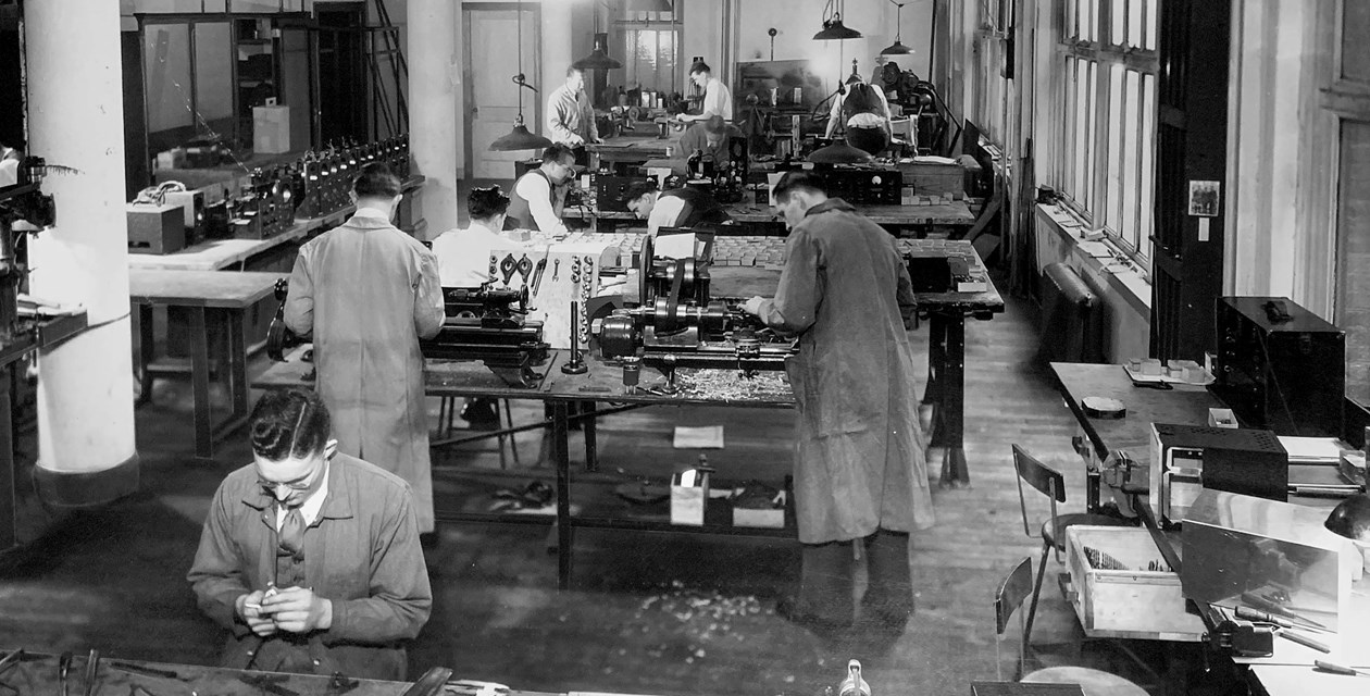 Lear Workshop 1930s