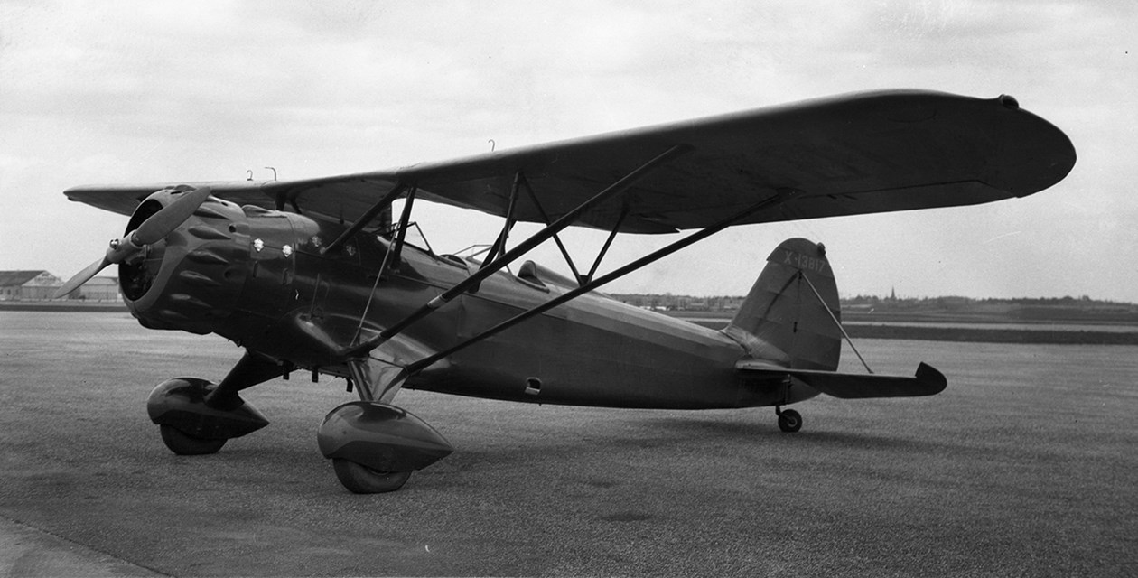 A Stinson Model O, date and location unknown