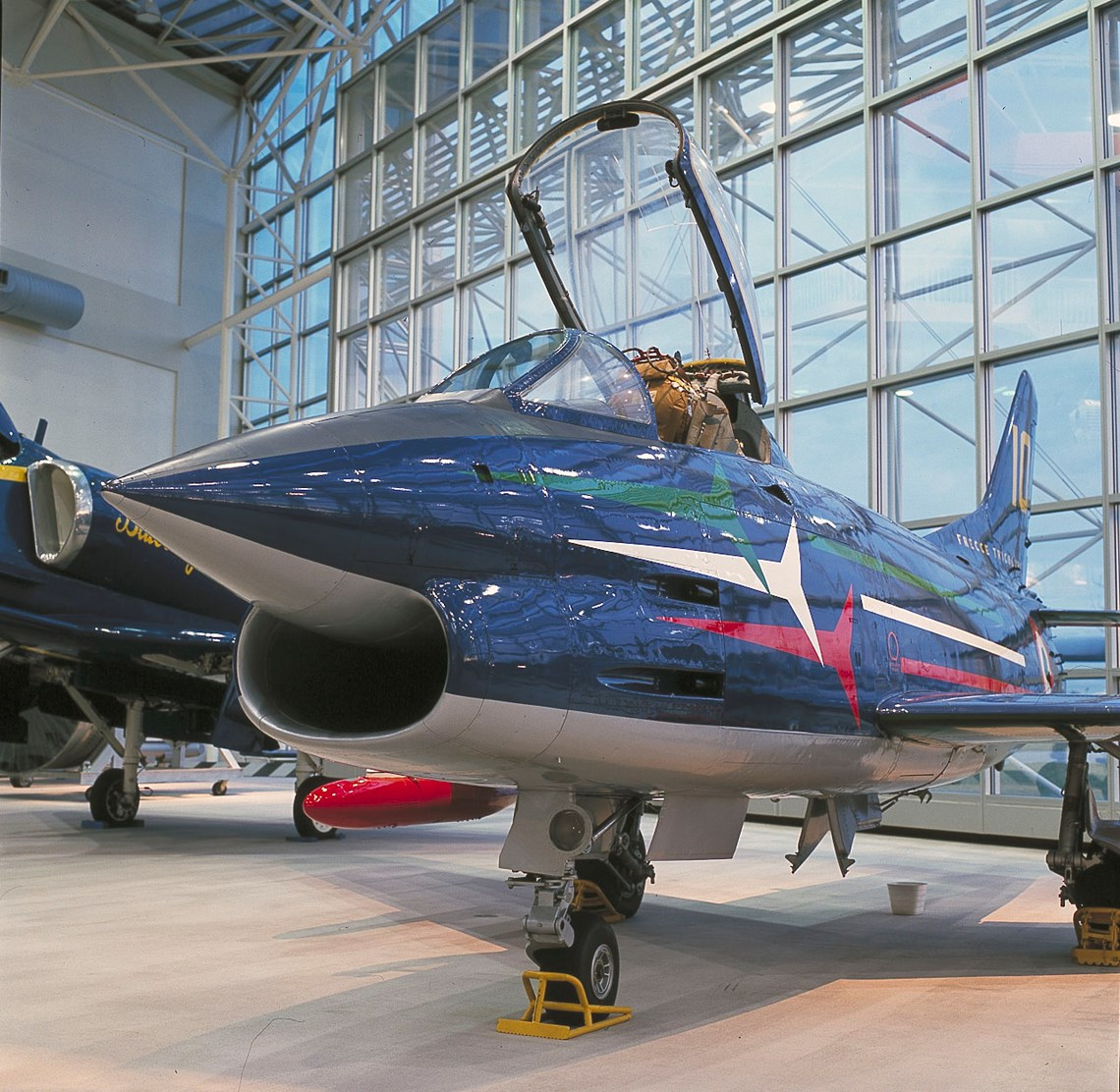 The Museum's Fiat G.91 Pan