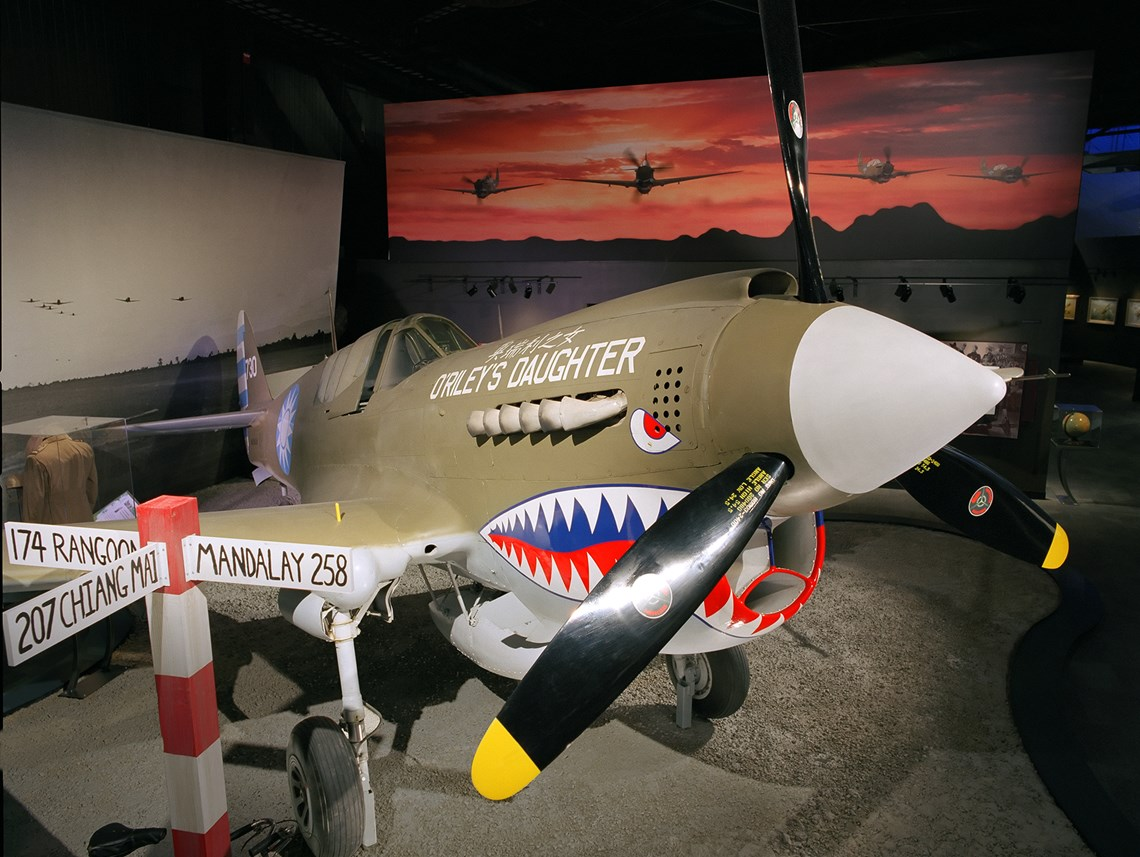 The Museum's Curtiss P-40N Warhawk (Photo by Heath Moffat)