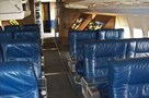 "The Museum's Boeing VC-137B (707-120/SAM 970) ""Air Force One"" seating area"