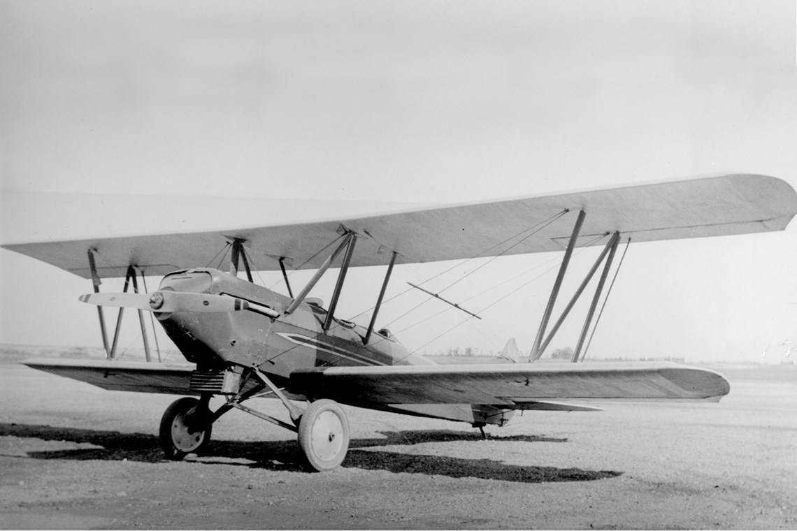 An Alexander Eaglerock (from the Bowers Collection at the Museum of Flight)
