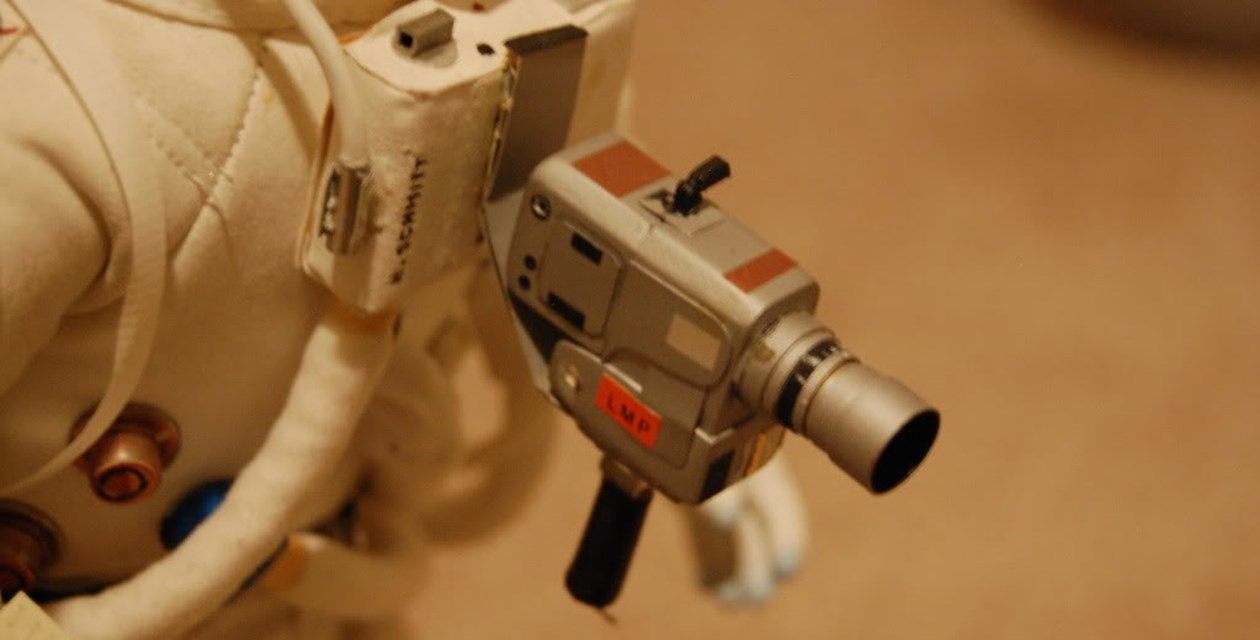 Closeup of LMP scratch-built Hasselblad camera - Courtesy Dave Gianakos