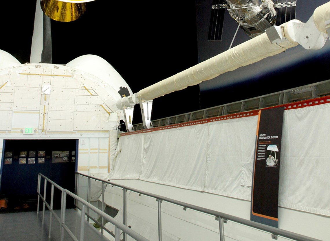 Shuttle Trainer cargo bay