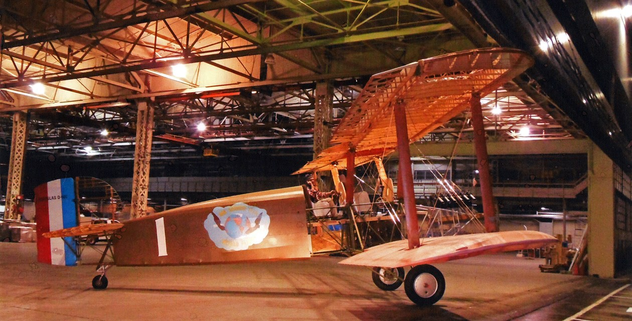 The Seattle II was the last plane out of Boeing's historic Plant 2. - Seattle World Cruiser Project