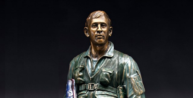 Vietnam Airman Statue | by sculptor James J. Nance
