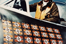 "Francis ""Gabby"" Gabreski was the leading ace in the European Theater with 28 victories, as recorded here on the side of his P-47D. Gabreski was later captured and held in Stalag Luft I. Courtesy of Cory Graff"