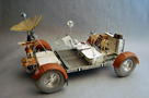 Lunar roving vehicle (LRV) - Courtesy Dave Gianakos