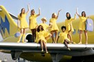 Hughes Airwest flight attendants, circa 1971 - The Museum of Flight Collection