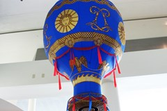 Montgolfier Balloon Replica - Model by Alex Morton