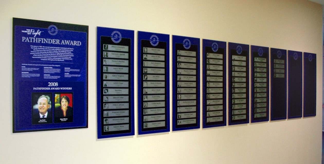 Pathfinder Award Wall of Fame