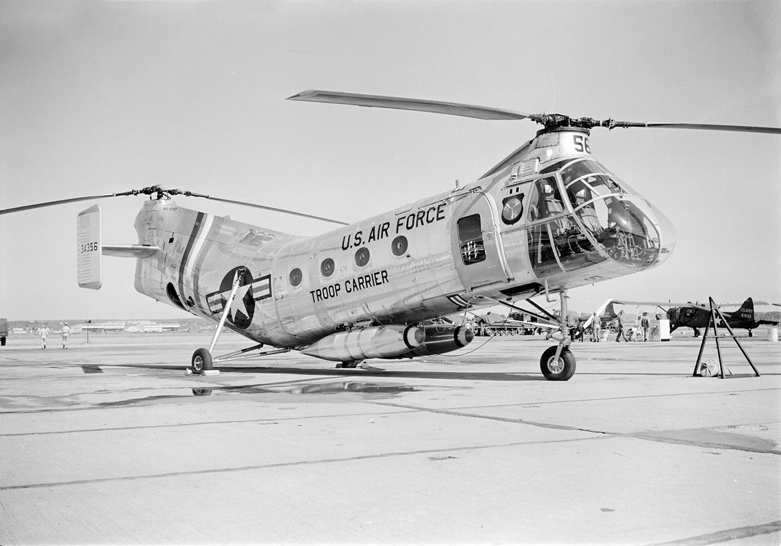 United States Air Force Piasecki H-21B - Gordon S. Williams Collection, The Museum of Flight