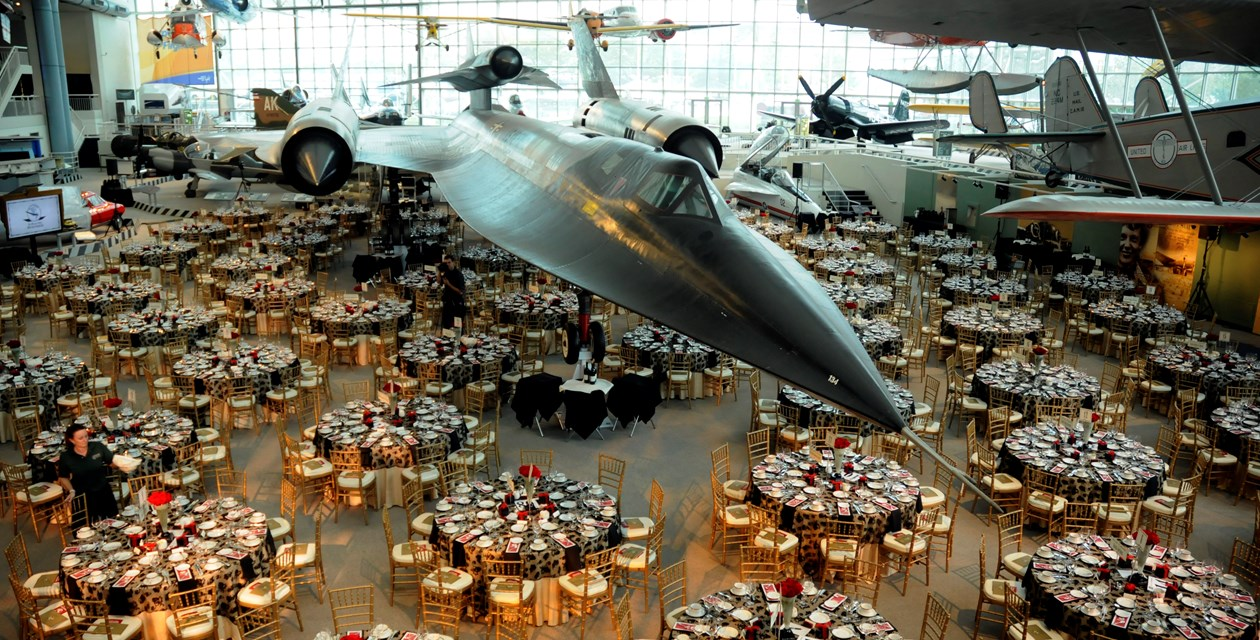 Private Events at the Museum of Flight