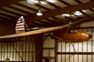 The Museum's Bowlus (Hawley) BA-100 Baby Albatross at the Restoration Center