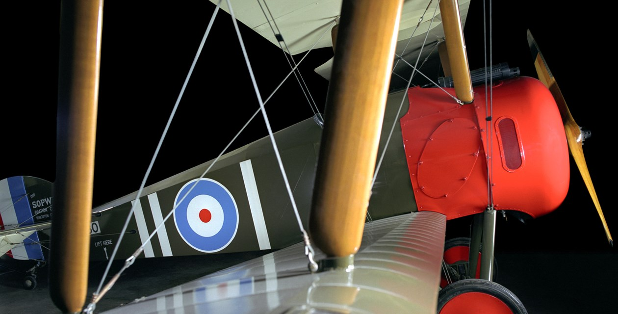 The Museum's Sopwith Camel F.1 Reproduction (Photo by Heath Moffatt)