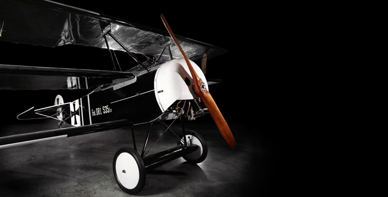 The Museum's Fokker Dr.I Reproduction (Photo by Heath Moffatt)