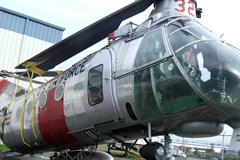 The Museum's Piasecki H-21B (CH-21B) Workhorse at the Restoration Center