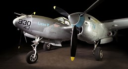 The Museum's Lockheed P-38L (Photo by Heath Moffatt)
