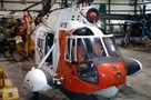 The Museum's Sikorsky (USA) HH-52 Seaguard at the Restoration Center