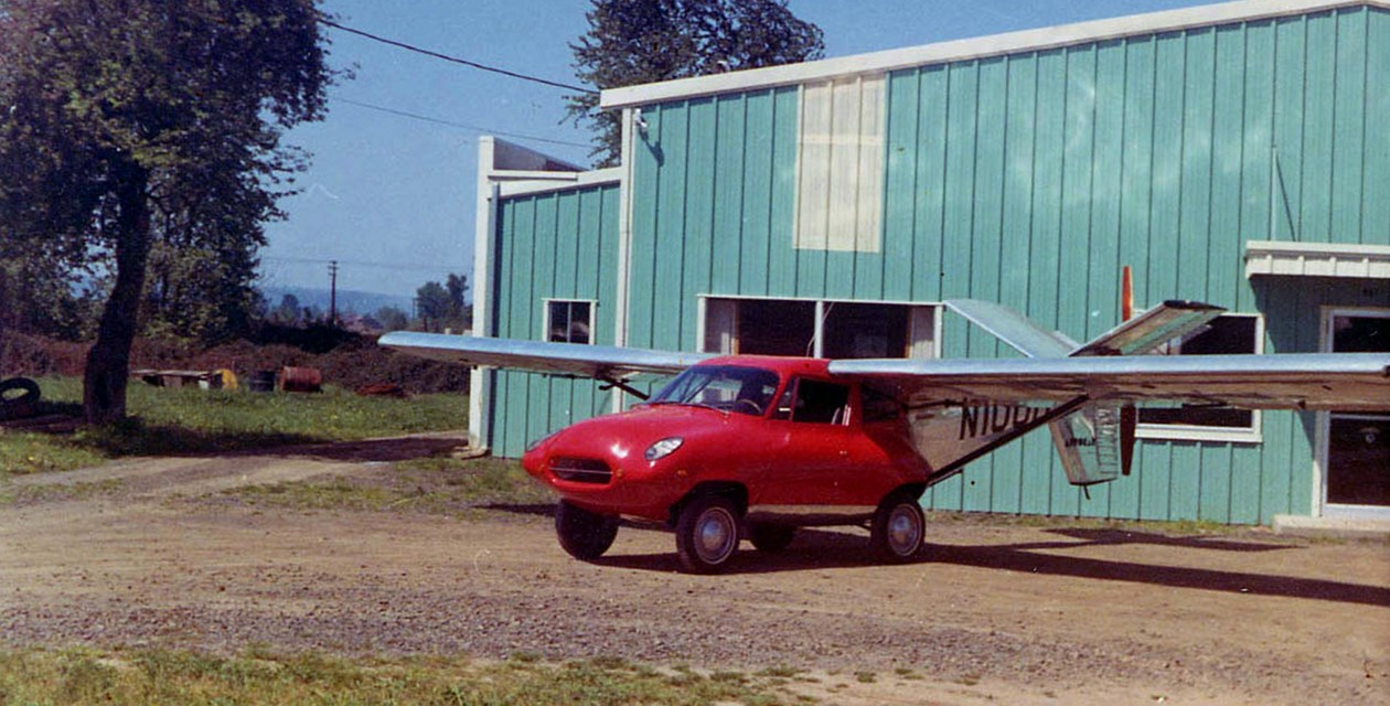 The Museum's Taylor Aerocar III in Longview, Washington