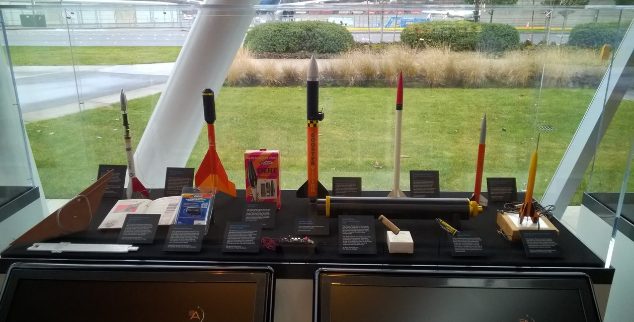 Rare and one-of-a-kind model rockets from the G. Harry Stine Collection, and the Vern and Glena Estes Collection